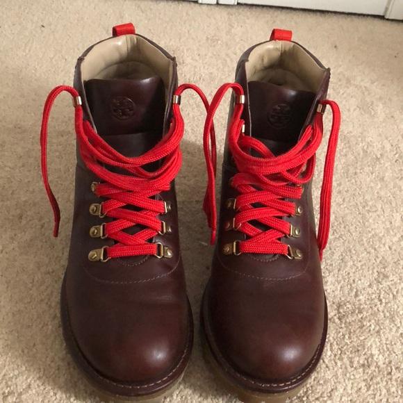 "4d52ee48b20 Tory Burch ""Gunton"" Ankle Hiking boot. M 5b25786103087c1b613a292c"